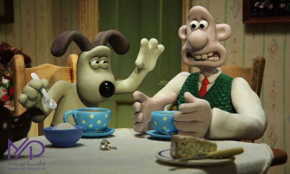 انیمیشن خمیری