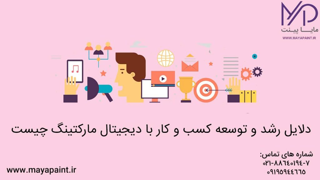 توسعه کسب و کار با دیجیتال مارکتینگ